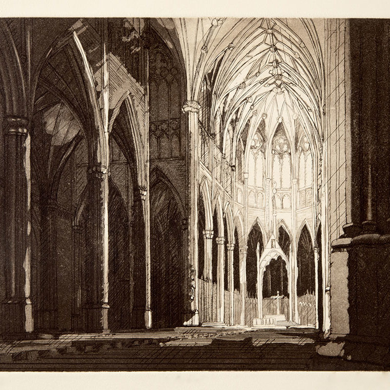 CATHEDRAL 1etching & aquatint9 inches x 11 inches2004 Edition 50