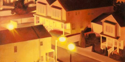 CORNER GLOWoil on canvas30 inches x 30 inches2011