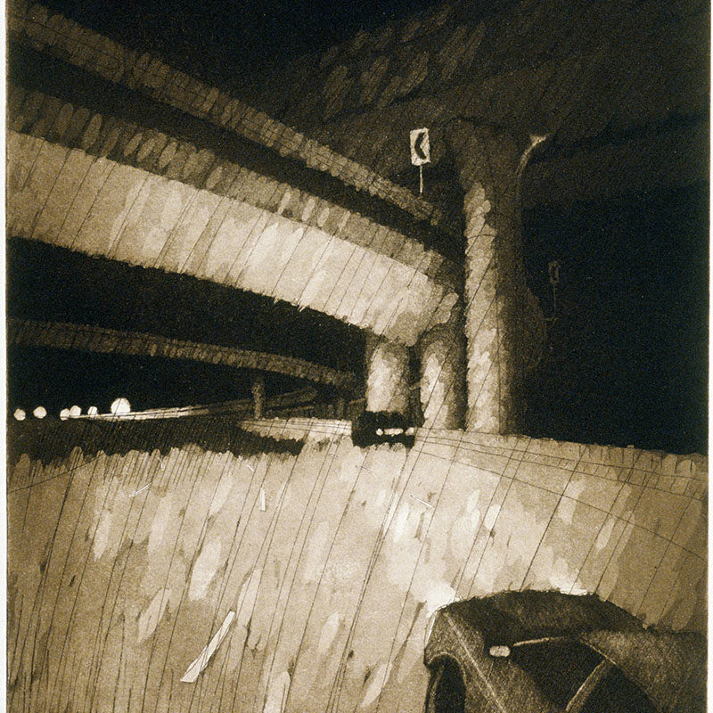 FORLORNetching & aquatint17 7/8 inches x 11 3/4 inches2009 Edition 50