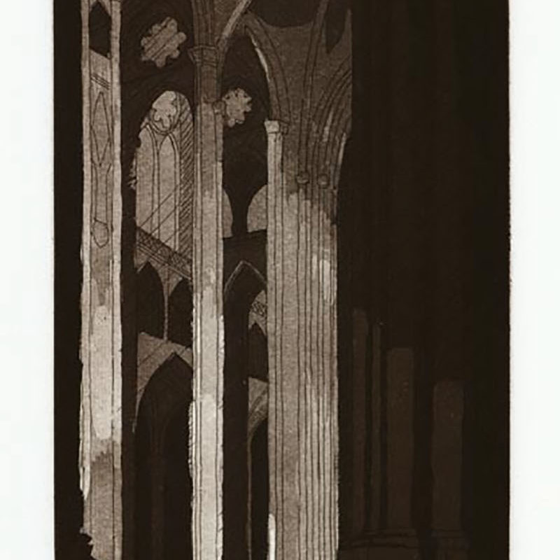 INSPIREetching & aquatint11 3/4 inches x 6 inches2005 Edition 50
