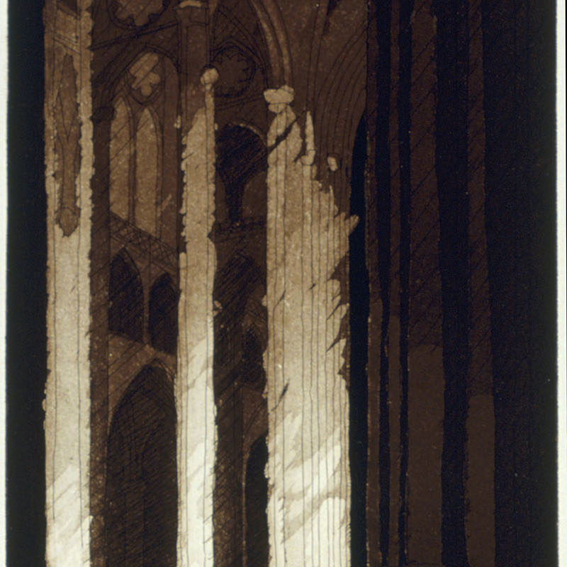 SOLACEetching & aquatint11 3/4 inches x 6 inches2005 Edition 50